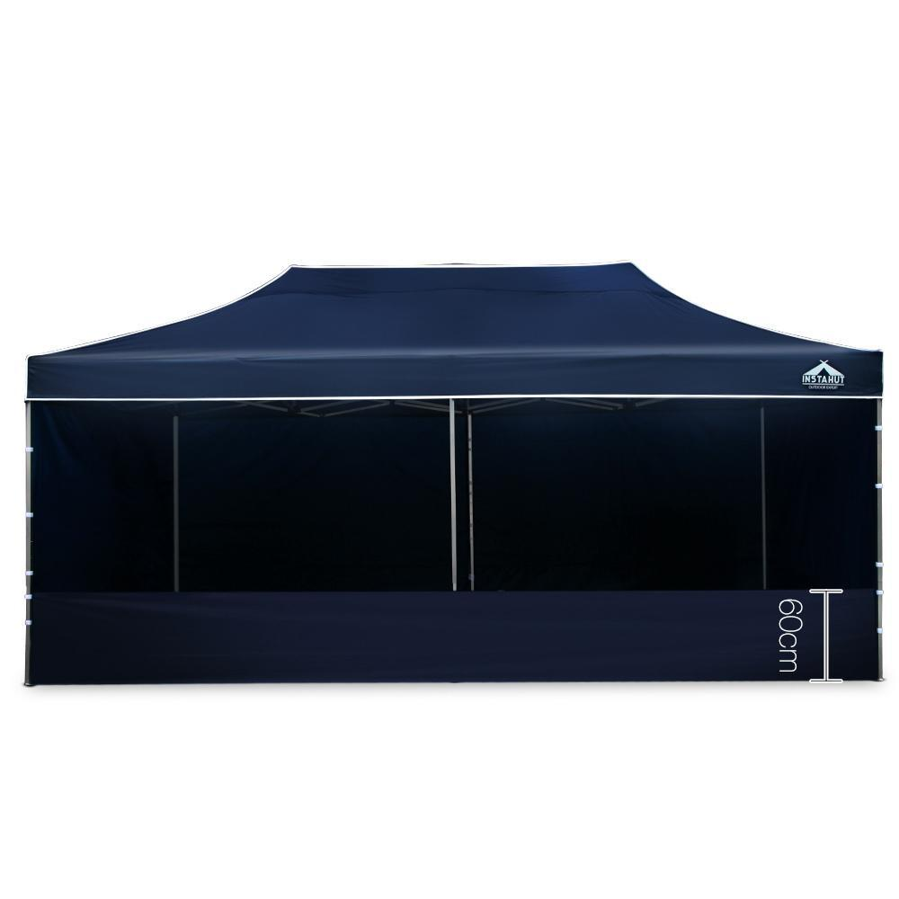 Instahut 3 x 6m Aluminium Pop Up Gazebo - Navy