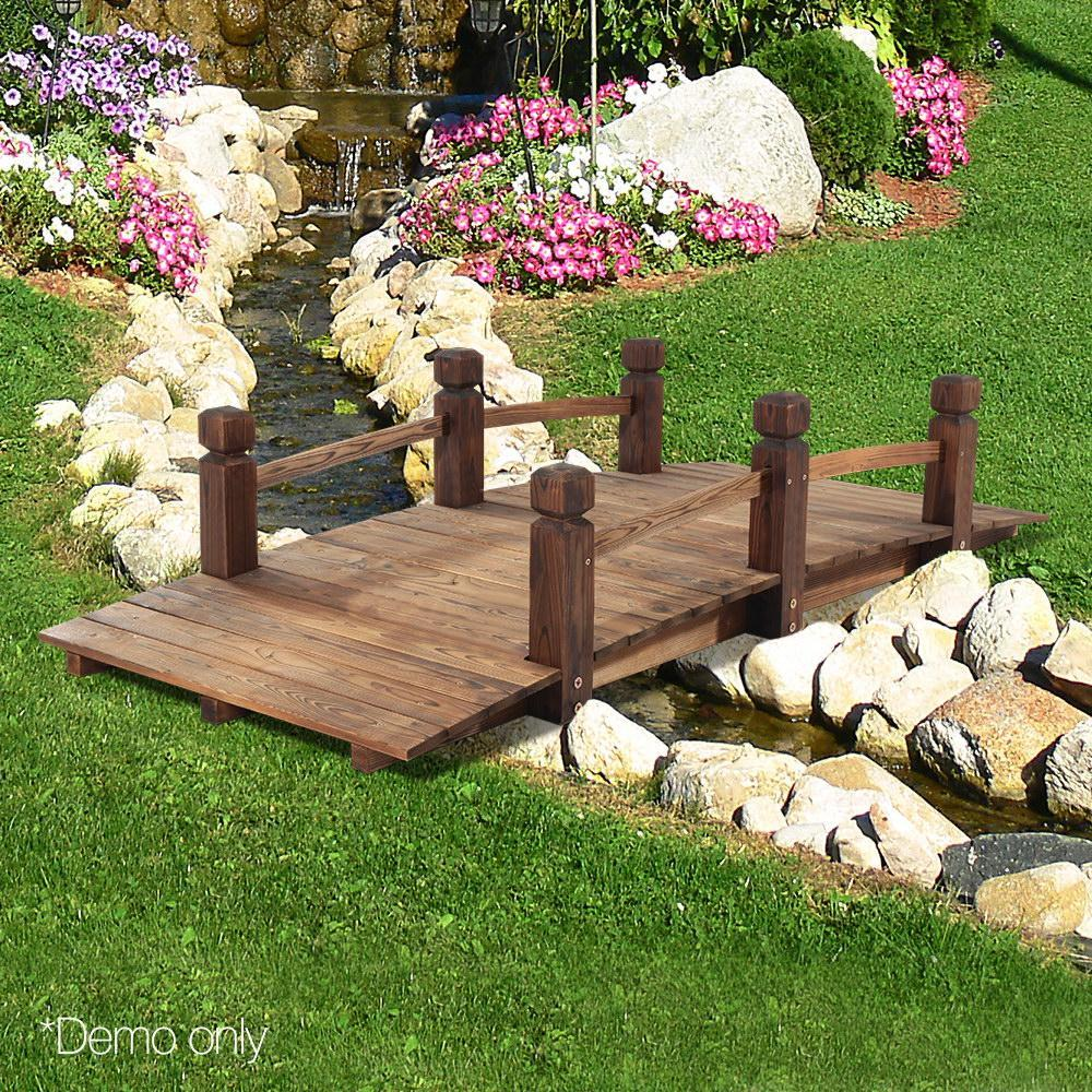 Wooden Rustic Bridge 160cm