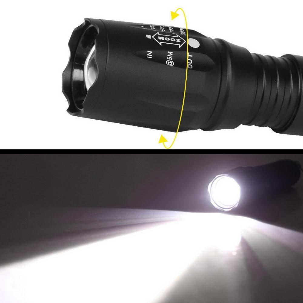 Weisshorn Tactical Flashlight Kit