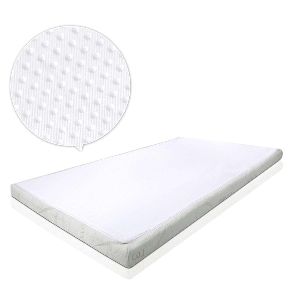 Giselle Bedding COOL GEL Memory Foam Mattress Topper BAMBOO Cover King 5CM Mat