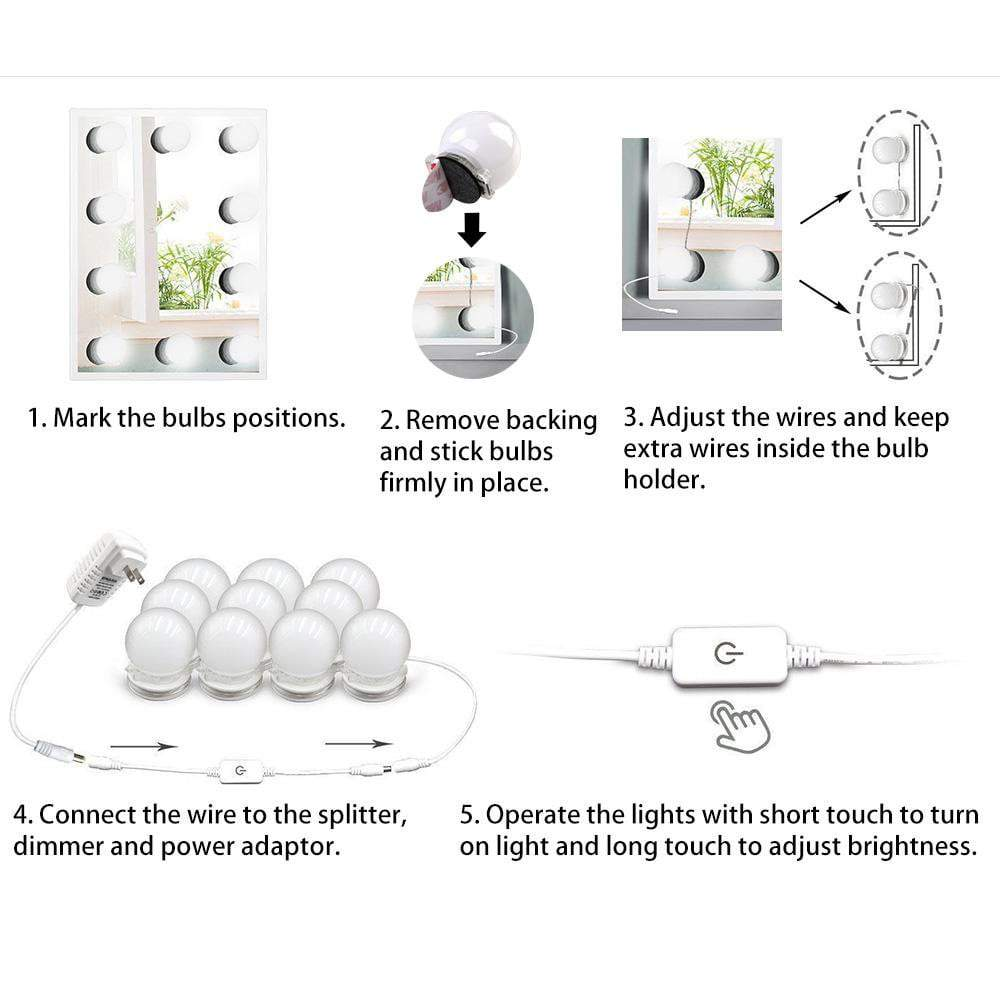 Mirror LED Lights Kit
