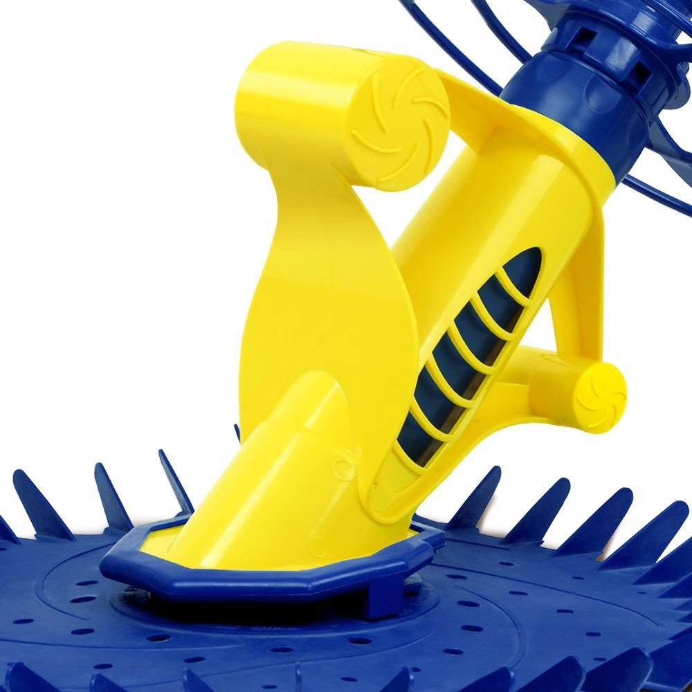 Aquabuddy Pool Cleaner Swimming Cleaning Automatic Floor Climb Wall Yellow And Blue
