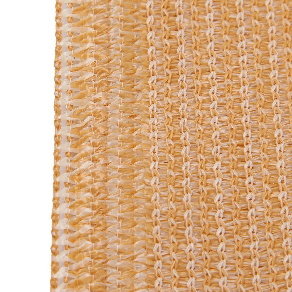 Instahut 70% UV Sun Shade Cloth Shadecloth Sail Roll Mesh Garden Outdoor 1.83x30m Beige