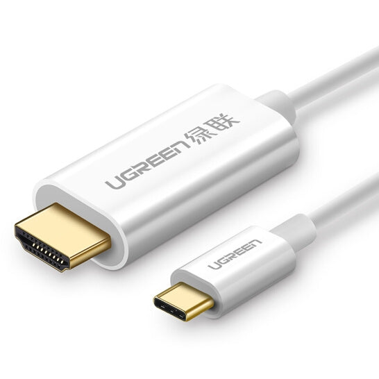 UGreen TypeC to HDMI 1.5M Cable White 30841