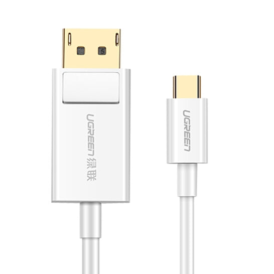 UGREEN USB Type C to DP Cable 1.5m (White) 40420