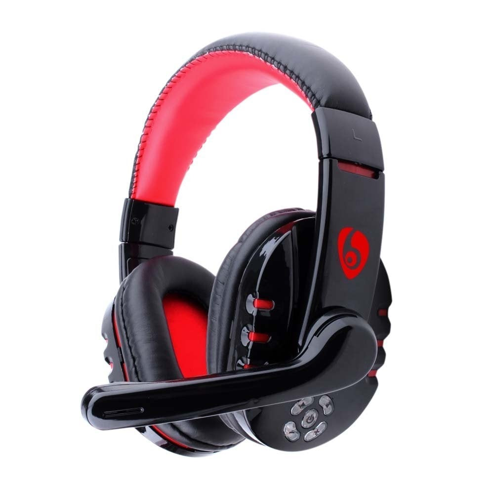 OVLENG V8-1 Over-Ear Stereo Bluetooth 4.0 + EDR Headband Wireless Foldable Headset Built-in Microphone Headphone for PC, Laptop, Mobile Phone