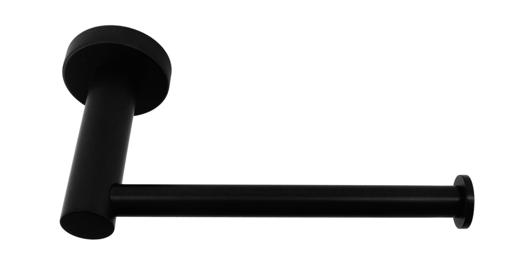 Classic Toilet Paper Holder Bathroom Electroplated Matte Black Finish