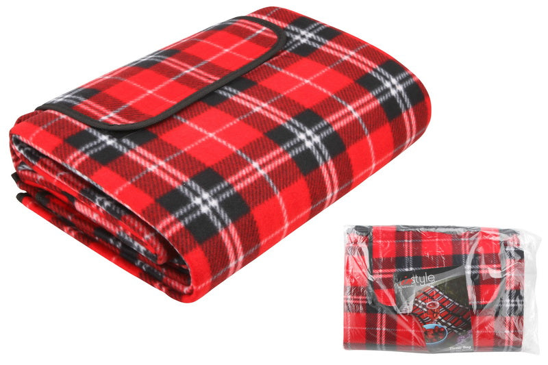 Picnic Rug Lrg150 X 200cm W/ Pvc Backing