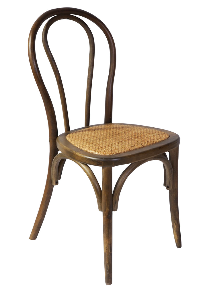 Bentwood Chair Walnut Set Of 2