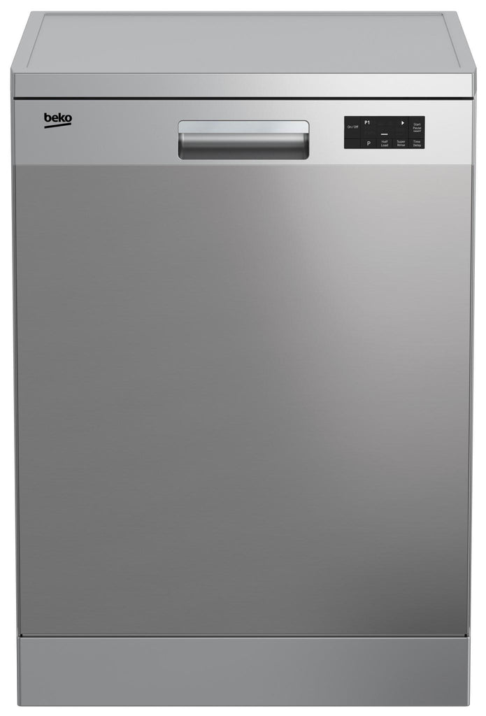 Beko DFN16420X 14 Place Setting Free Standing Dishwasher (S/Steel)