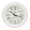 Large 24'' Elegant Wall Clock, Step Movement