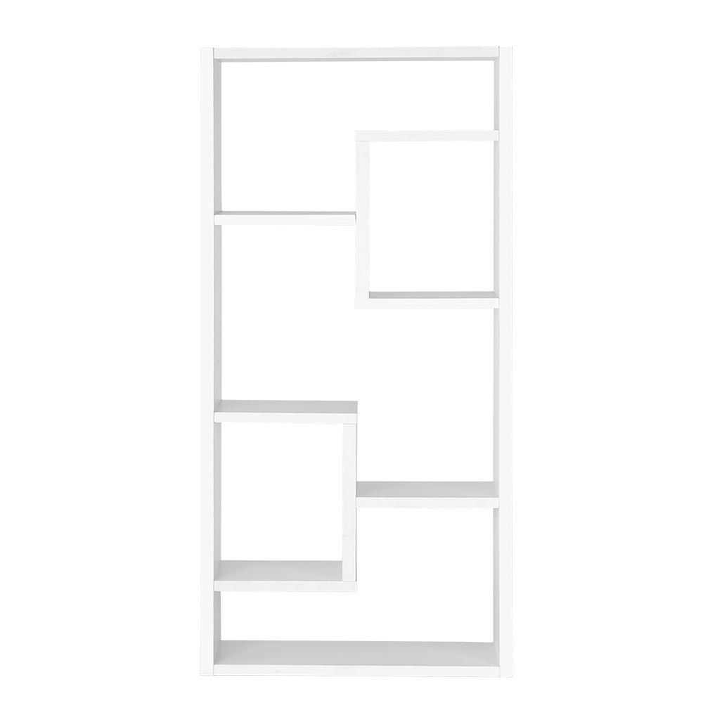 Artiss 4 Tier Floating Shelf Display Stand Wall Mount DVD CD Storage White