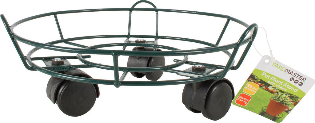 Pot Plant Stand On Wheels D/25Cm