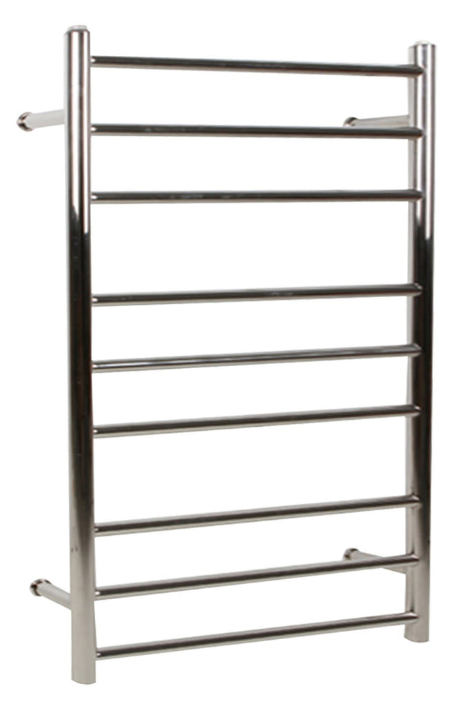 9 Ring Electric Heated S/S Towel Rack 220-240V Mounted
