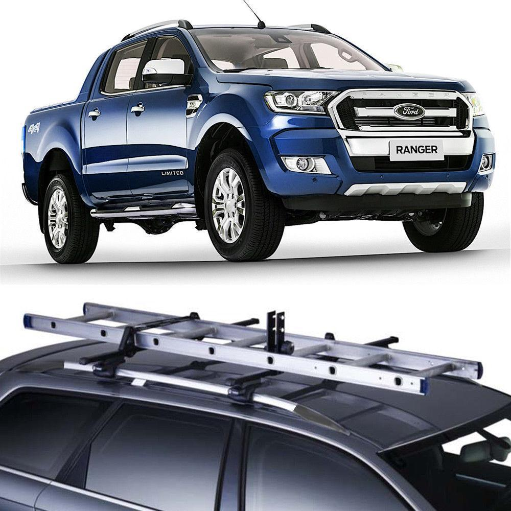 Roof Rails Aluminum Fit Ford Ranger PX 2012-2018 OEM Wildtrak style