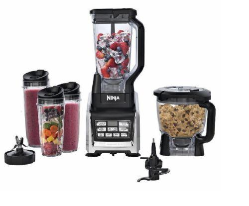 New Nutri Ninja 1500W Blending System Processor System with Auto IQ Technology