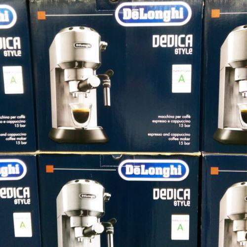 Delonghi Coffee Machine Maker Dedica Pump Espresso Machine EC685M