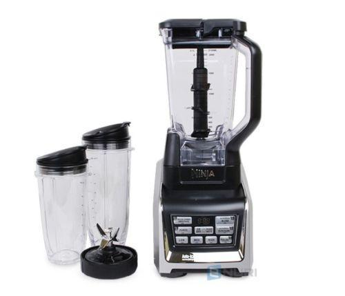 Nutri Ninja 1500W 72 Ounce Ninja Blender Duo with Auto-iQ and Cups BL642KR