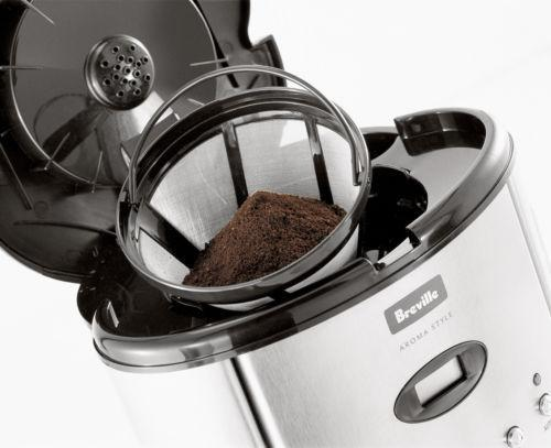Breville Aroma Style Drip Filter Electronic Coffee Maker BCM600