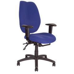 THAMES •  Ergonomic High Back Multi-functional Task Operator Chair with Adjustable Arms