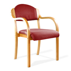 Tahara - Beech Framed Stackable Armchair