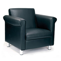 Florence- Quality Leather Faced Armchair