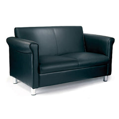 Florence- Quality Leather Faced Two Seater Sofa