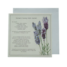 Load image into Gallery viewer, Butlers Pantry Moth Sachet Recipe Greeting card