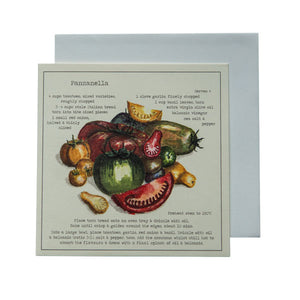 Panzanella Recipe Greeting card