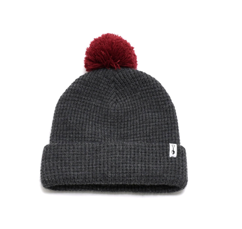 Thermal Knit Pom Beanie Hat
