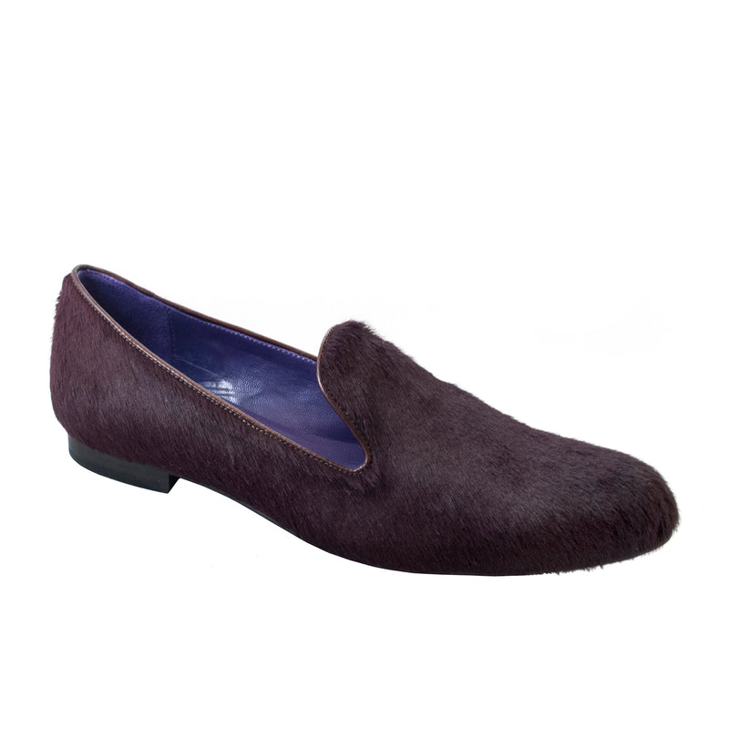Women's Smoking Slipper Wine