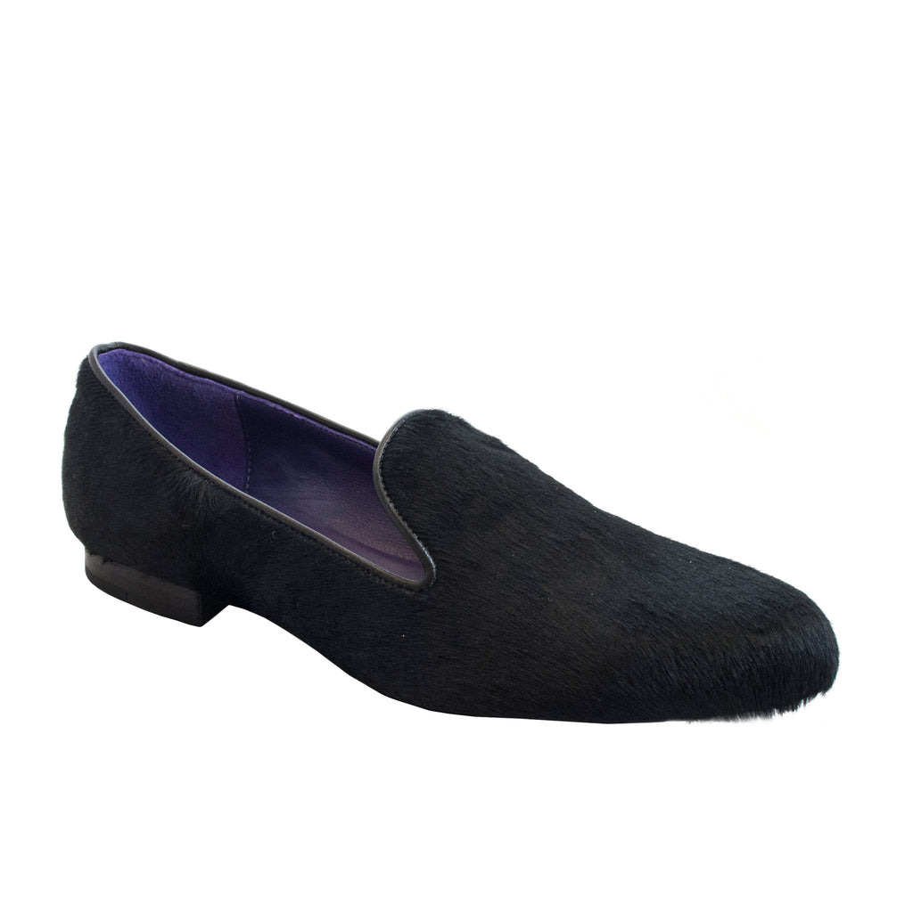 Women's Smoking Slipper Slate