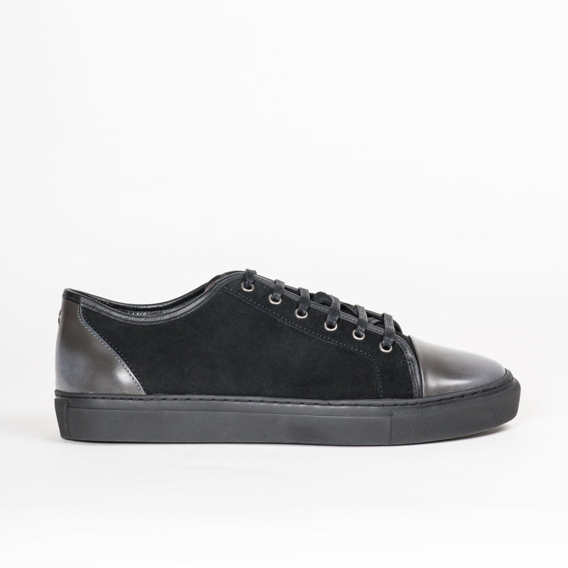 Footwear - Gotham II Black Steel