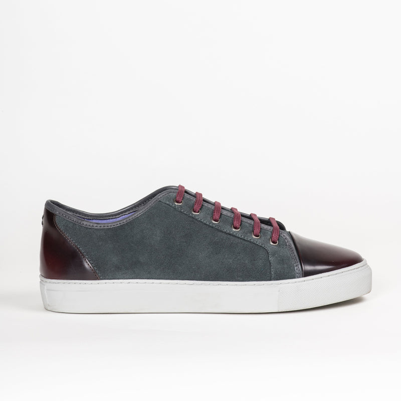 Footwear - Gotham II Gray/Burgundy