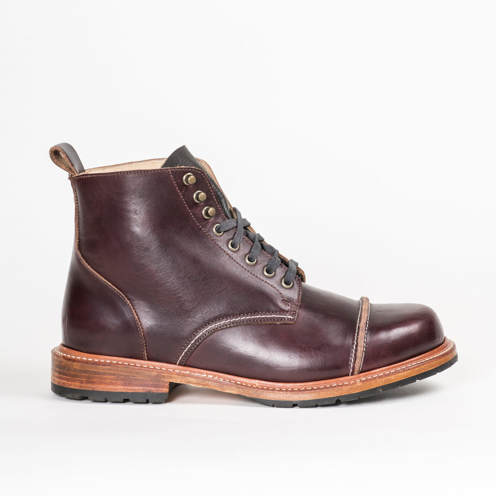 Footwear - Hudson Oxblood