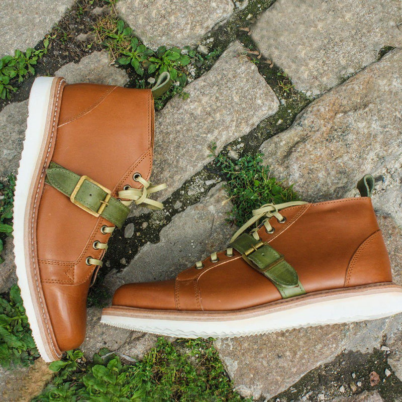 Footwear - Van Dam English Tan