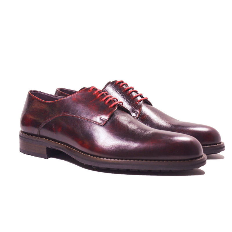 Footwear - York Oxblood