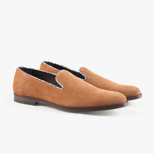 Smoking Slipper - Carlyle Cognac