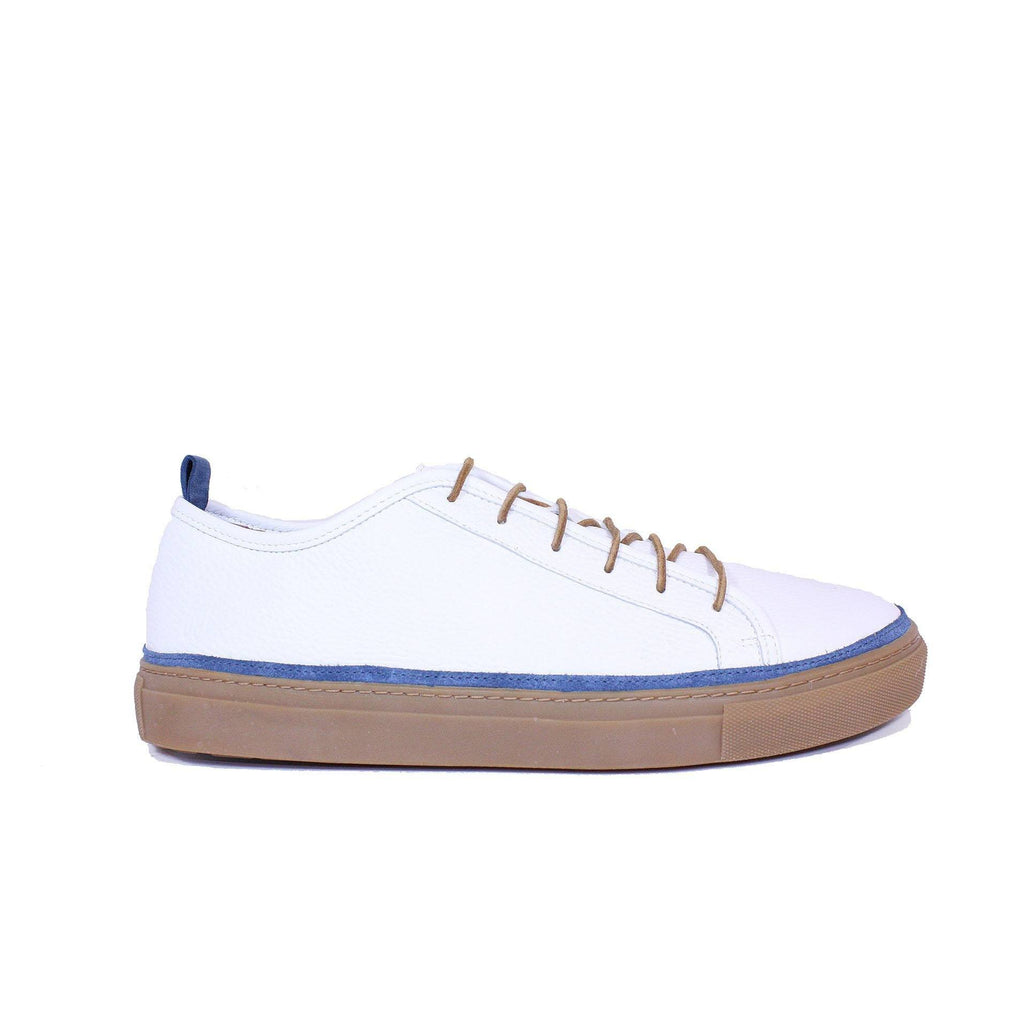 Sneakers - Perry Nautical White