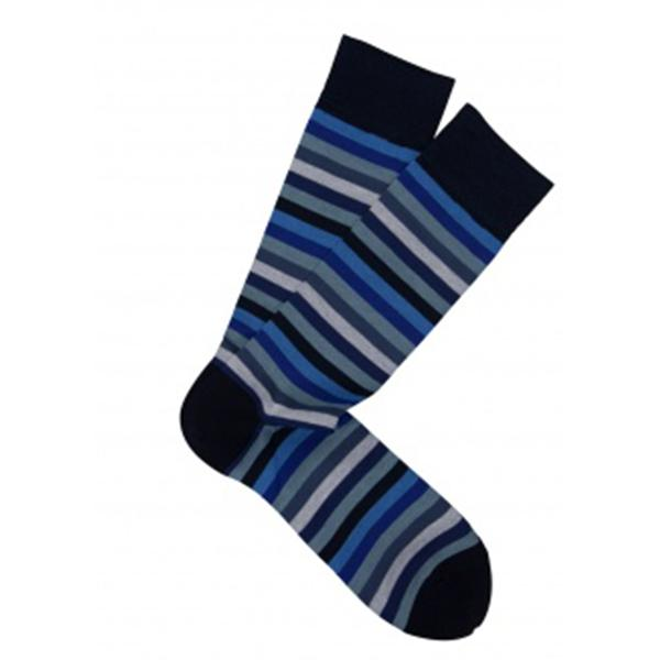 Socks - Pima Cotton Rainbow Stripe Socks