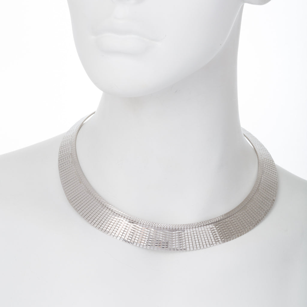 Diamond Cut Graduated Cleopatra Necklace