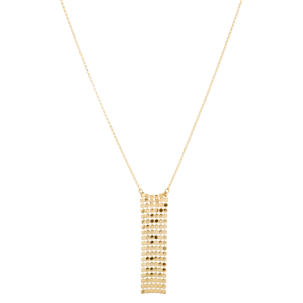 Rectangle Mesh Necklace