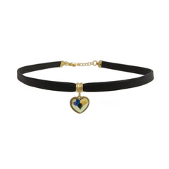 Heart Drop Choker
