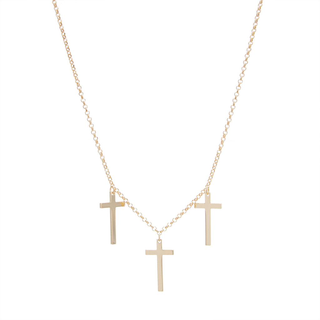 "12"" Triple Cross Drop Choker with 5"" Extension"