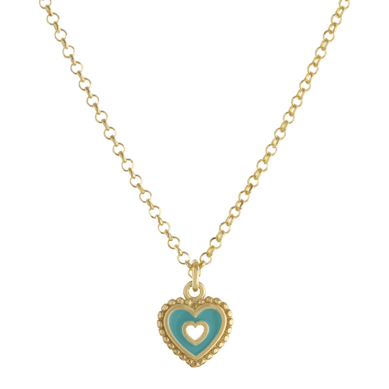 Heart Drop Necklace