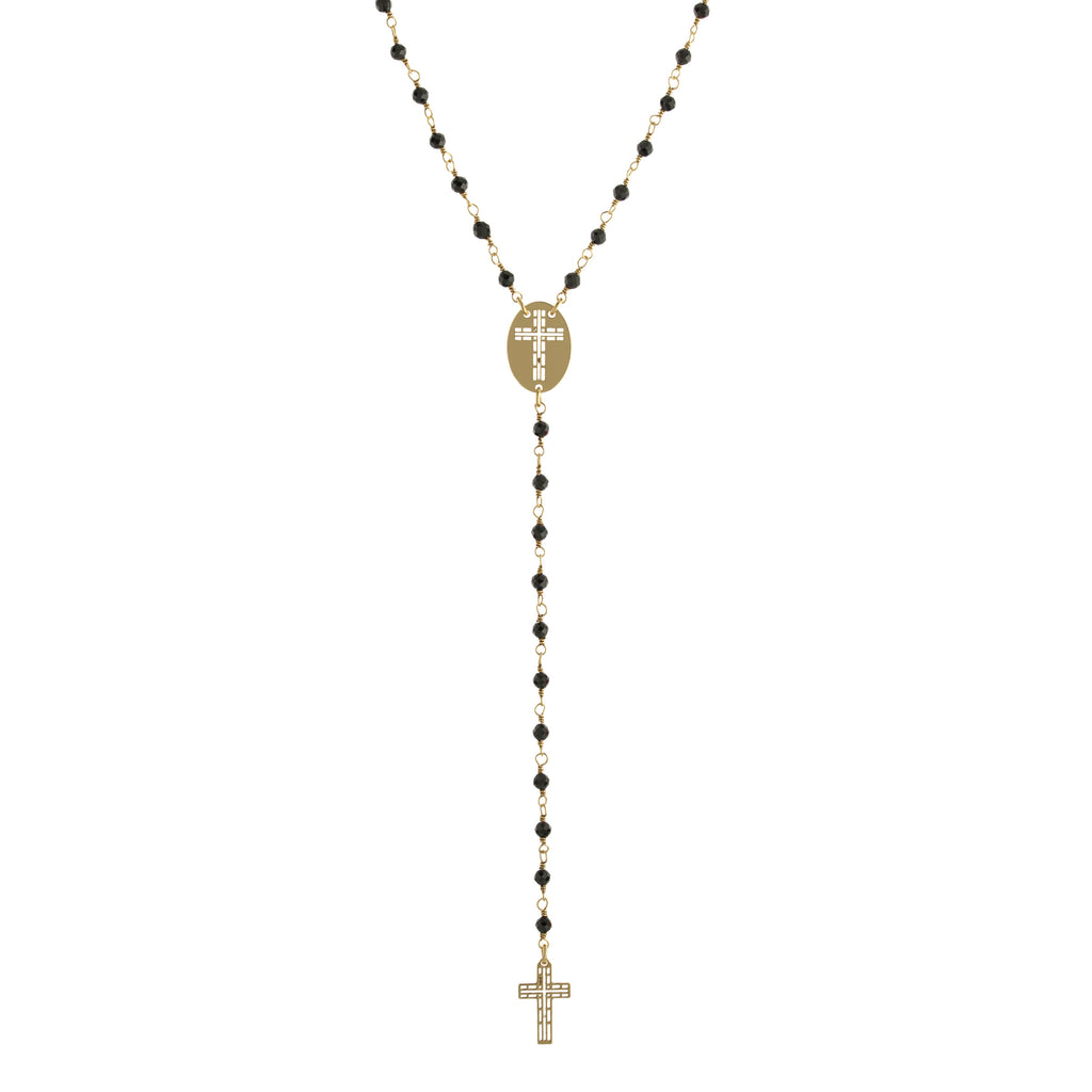 Religious Crystal Necklace