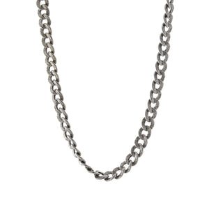 Textured Link Toggle Necklace