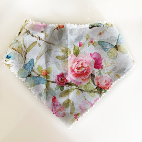 Victorian Bloom drool Bib