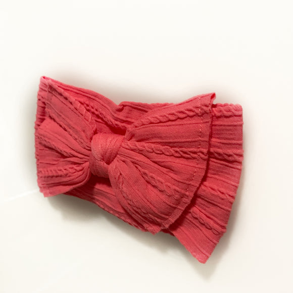 The Classic Coral Knot Bow