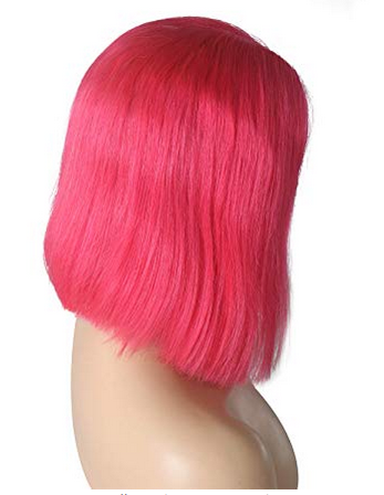 Brazilian Straight Bob (Hot Pink)